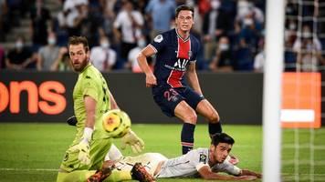 ligue 1: nationalspielerjulian draxler köpft psg zum ersten saisonsieg