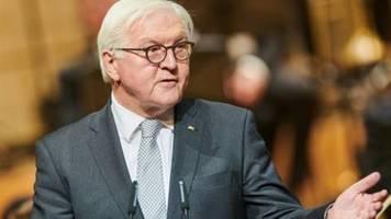 Steinmeier erinnert Corona-Maßnahmen-Gegner an ihre Verantwortung