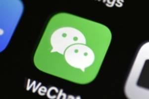 Streit mit China: US-Regierung will Downloads von Tiktok und WeChat blockieren
