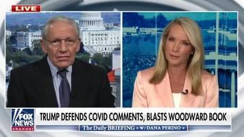 Buch über den US-Präsidenten: Die Beweise sind überwältigend: Woodward zofft sich mit Moderatorin wegen seiner Kritik an Trump