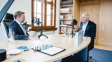 Podcast Wickert trifft: Als Kind war er dick und wurde gehänselt - Christian Lindner gibt Einblicke in sein Leben