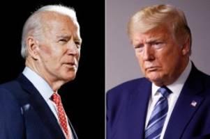 US-Wahlkampf: Wegen Corona-Lügen: Biden ruft Trump zum Rücktritt auf