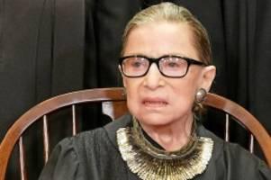 Richterin: Tod von Ruth Bader Ginsburg stellt US-Wahlkampf auf den Kopf