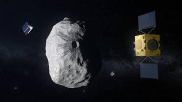 esa-mission hera: start einer asteroiden-abwehr: die dinosaurier waren hilflos, aber wir werden vorbereitet sein