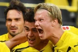 1. Spieltag: BVB-Spektakel zum Start: 3:0 im Topspiel gegen Gladbach