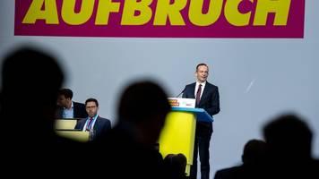 bundesparteitag: wissing ist neuer fdp-generalsekretär