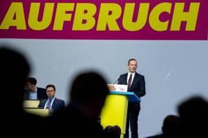 Lindner stellt FDP vor Bundestagswahl neu auf: Wissing wird Generalsekretär