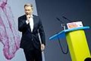 fdp-parteitag in berlin - für lindners traum vom zweiten wirtschaftswunder muss eine frau nun weichen