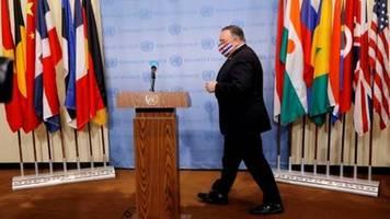 USA drohen UN-Mitgliedstaaten im Streit um Iran-Sanktionen mit Konsequenzen