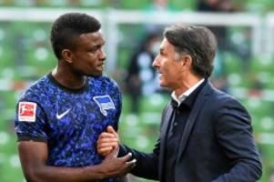 Hertha BSC: Zugang Cordoba punktet bei Hertha im internen Stürmerduell