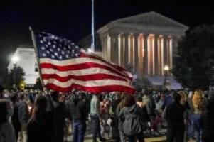 Nach Tod von US-Richterin: Trump strebt rasche Ginsburg-Nachfolge an