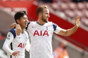 Premier League: Viermal Son, einmal Kane: Tottenham schlägt Southampton