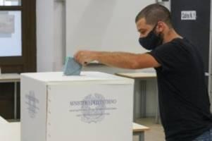 gerät regierung unter druck?: stimmungstest in corona-zeiten: regionalwahlen in italien