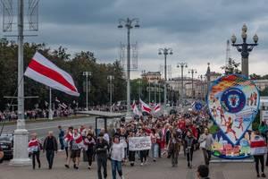 Belarus: Erneute Festnahmen bei Protesten gegen Lukaschenko