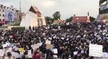 : Tausende demonstrieren in Thailand für mehr Demokratie