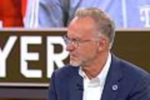 """Karl-Heinz Rummenigge - Bayerns Vorstandschef bei """"Sky90"""": """"Habe ich noch nie beim FC Bayern erlebt"""""""