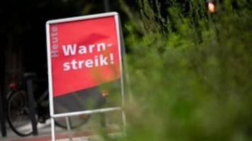 Warnstreiks im öffentlichen Dienst ab Dienstag