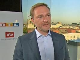fdp-chef im ntv frühstart: lindner entschuldigt sich bei teuteberg