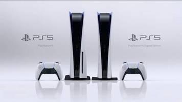 neue konsole: playstation 5 überall ausverkauft - nun entschuldigt sich sony für vorbestellchaos