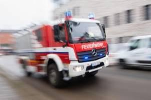 brände: vier verletzte bei feuer in hamburg-rothenburgsort