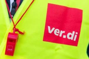 Tarife: Hamburg: Verdi droht mit Warnstreiks im öffentlichen Dienst