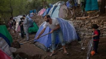 griechenland: erneut feuer im flüchtlingslager auf samos – brand unter kontrolle