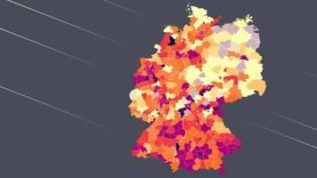 Corona in Deutschland: Landkreise zeigen alarmierende Corona-Entwicklung