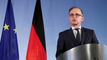 verstöße gegen waffenembargo - streit um sanktionen: eu-außenminister beraten in brüssel
