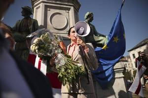 tichanowskaja fordert eu-sanktionen gegen lukaschenko