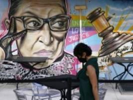 Bader-Ginsburg-Nachfolge: Logik der permanenten Eskalation