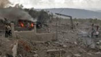 Waffendepot: Explosion in Hisbollah-Hochburg im Libanon