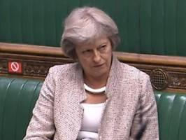 Brexit-Kurs unverantwortlich: May verweigert Zustimmung zu Johnsons Gesetz