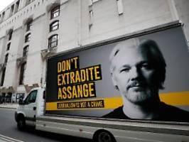 wikileaks-gründer hört stimmen: psychiater sieht bei assange suizid-gefahr