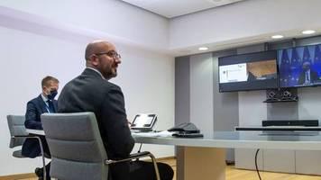 Kontakt mit Infiziertem: EU-Gipfel kurzfristig verschoben - Covid-Fall