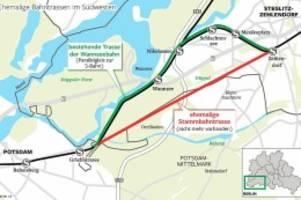 verkehr: stammbahn wird nicht vor 2030 in betrieb gehen