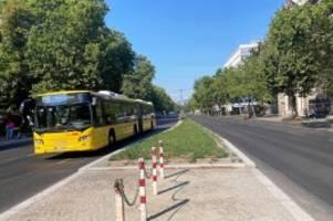 verkehr: warum der umbau der hardenbergstraße erst 2021 fertig ist