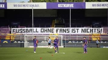 derby osnabrück gegen hannover vor 3200 zuschauern