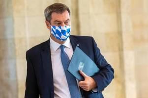 Söder informiert heute in Pressekonferenz über Corona-Regeln und Maskenpflicht
