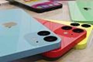 vier modelle erwartet - iphone 12: apple könnte mini-iphone auf den markt bringen