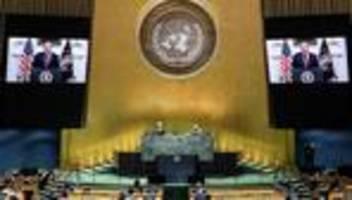 Vereinte Nationen: Donald Trump macht China für Corona-Pandemie verantwortlich