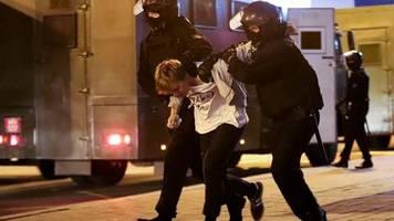 Brutalität gegen Demonstranten: Proteste und Festnahmen nach Amtseinführung von Lukaschenko
