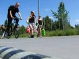 Senat kündigt drei Radschnellwege durch Parks an