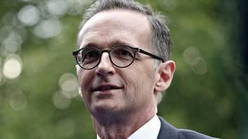 Heiko Maas: Außenminister nach Corona-Fall in Quarantäne