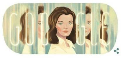 Google Doodle: Romy Schneider: Die Rolle der jungen Kaiserin Elisabeth machte sie zum Weltstar