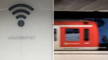 news von heute: deutsche bahn startet kostenloses wlan an mehr als 100 bahnhöfen