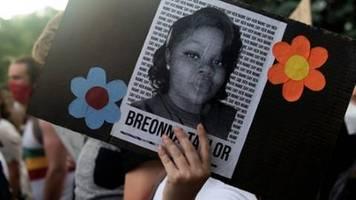 US-Polizist nach tödlichen Schüssen auf Afroamerikanerin Taylor angeklagt