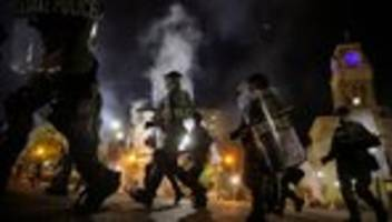 Fall Breonna Taylor: Zwei Polizisten bei Protest in Louisville angeschossen