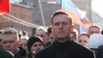 russland: behörden beschlagnahmen konten und wohnung von alexej nawalny
