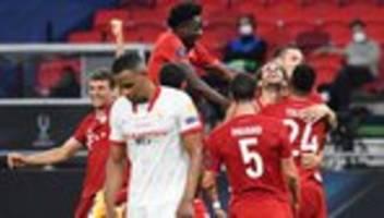 UEFA-Supercup: Bayern München gewinnt Finale gegen FC Sevilla