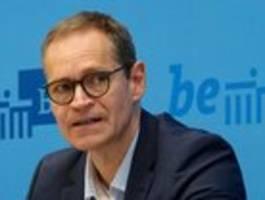 Michael Müller kündigt Verschärfung der Corona-Regeln an